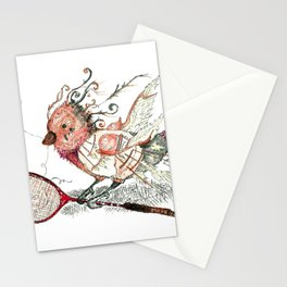 The Wild Badminton Birdie Stationery Cards