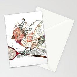 The Wild Badminton Birdie Stationery Cards
