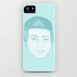 Blue Luke iPhone Case