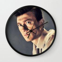 Laurence Harvey, Vintage Actor Wall Clock