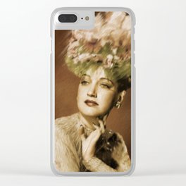 Dorothy Lamour Clear iPhone Case