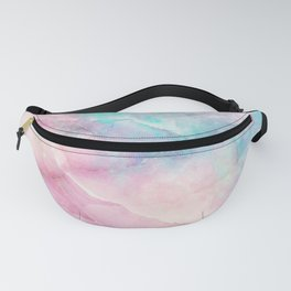 Iridescent marble Fanny Pack
