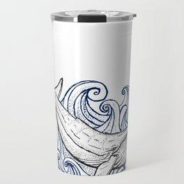 Whale Then Travel Mug
