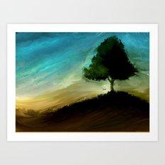 Meltree Art Print