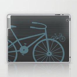 Grey Bike by Friztin Laptop & iPad Skin