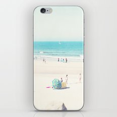beach - happy life iPhone & iPod Skin