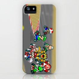 Mario Circuit iPhone Case