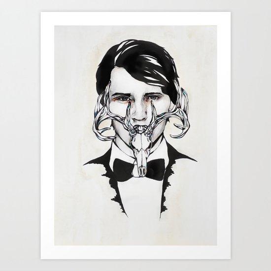 BowTie Art Print