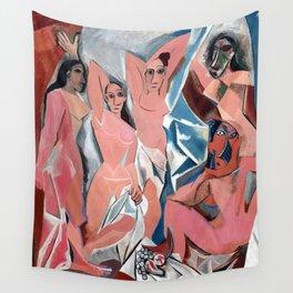 Pablo Picasso Les Demoiselles d'Avignon Wall Tapestry
