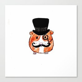 Sir Guinea Pig Canvas Print