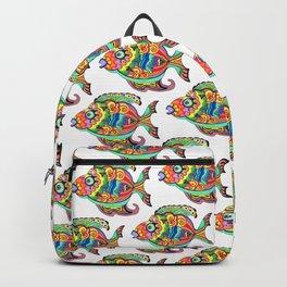 Belizean Moon Fish Backpack