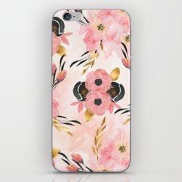 Night Meadow Blush Pink iPhone Skin