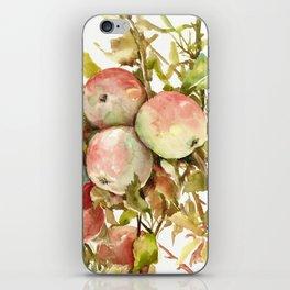 Apples, Apple Tree kitchen design illustration fruits iPhone Skin