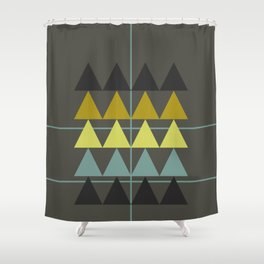 disguise forest || spring neon Shower Curtain