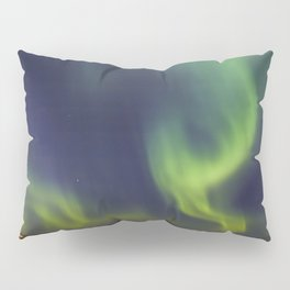 Northern Lights. Aurora borealis Pillow Sham