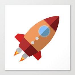 Rocket Ship Canvas Print