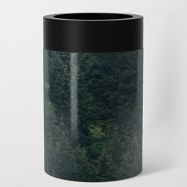 Mystic Pines - A Forest in the Fog Can Cooler