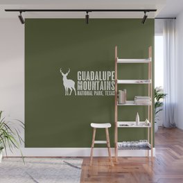 Deer: Guadalupe Mountains, Texas Wall Mural