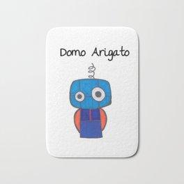 Domo Arigato Mr. Roboto Bath Mat