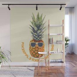 Pineapple aka Agent Ananas Wall Mural