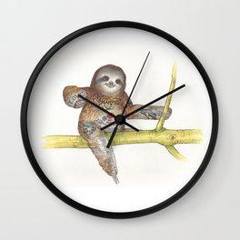 No Regrets Wall Clock