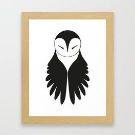 l'Effraie Framed Art Print