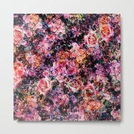 Polychromatic Roses Metal Print
