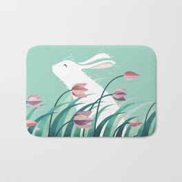 Rabbit, Resting Bath Mat