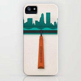 Jacksonville Brayer iPhone Case