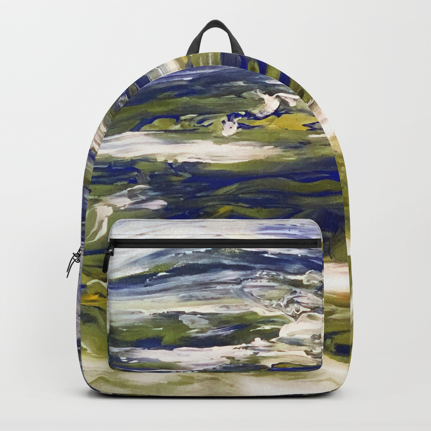 Earth Scape Backpack by apinchofyou