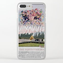 Midsommar Flower Clear iPhone Case