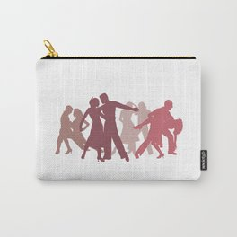 Latin Dancers Illustration Carry-All Pouch