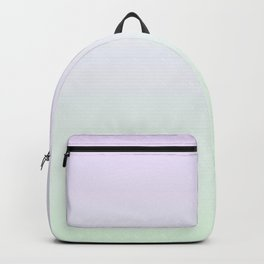 Color gradient 15. Violet and green. abstraction,abstract,minimalism,plain,ombré Backpack