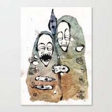 the warriors -2- Canvas Print