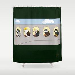 The Trip Shower Curtain