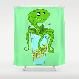 My Milkshake Brings All The Flies To The Yard Shower Curtain