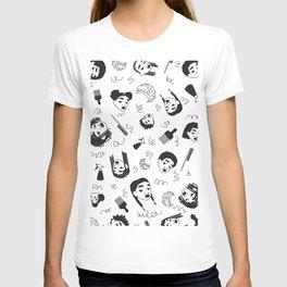 Curl Pattern T-shirt