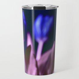 BLUE TULIPS Travel Mug