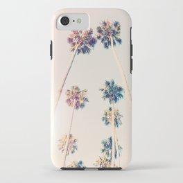 Vintage Pastel Palm trees iPhone Case