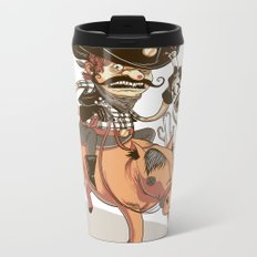 Giddy Up! Metal Travel Mug