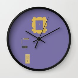 FRIENDS DOOR Wall Clock