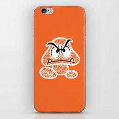 Goomba #CrackedOutBadGuys iPhone & iPod Skin
