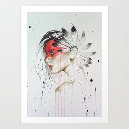 Jay Freestyle - Native American Art Print