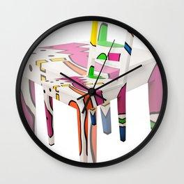 CHAIR 01 Wall Clock