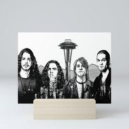 Big Seattle 4 Mini Art Print