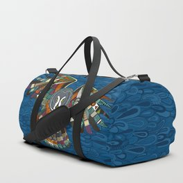 night owl blue Duffle Bag