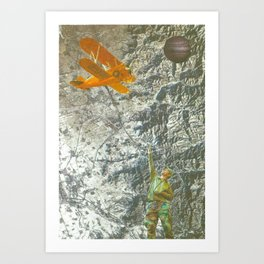 Mapping another Planet  Art Print