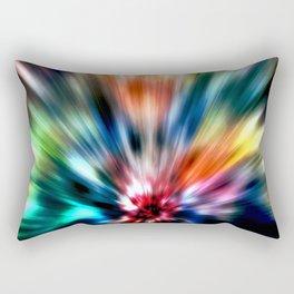 Burst of Colors Rectangular Pillow