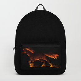 Fire Trail Horse Backpack