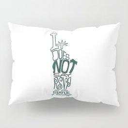 Don't Be Clueless Pillow Sham